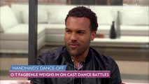 'The Handmaid's Tale's O-T Fagbenle Challenges Costar Amanda Brugel to a Dance-Off