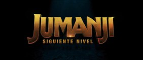 JUMANJI: SIGUIENTE NIVEL (2019) Trailer - SPANISH