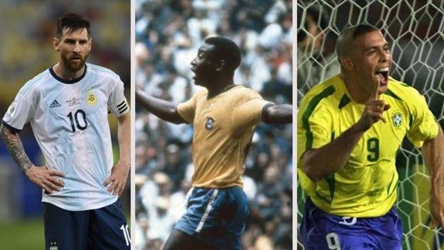 Veja quem são os 15 maiores artilheiros de Brasil x Argentina