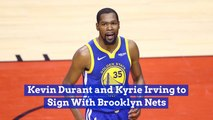 Kevin Durant Makes A Move