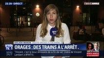 Un violent épisode orageux en Auvergne-Rhône-Alpes perturbe très fortement le trafic ferroviaire