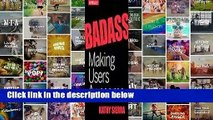 [GIFT IDEAS] Badass: Making Users Awesome