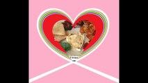 Bom dia meu amor, O café da manhã é todo em formato de coração, amo você! [Mensagem] [Frases e Poemas]