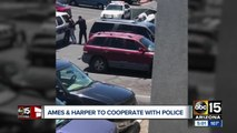 Phoenix couple says they are willing to cooperate in the prosecution of the officers