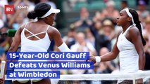 A 15 Year Old Tennis Player Just Beat Venus Williams