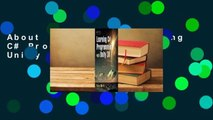 About For Books  Learning C# Programming with Unity 3D  Review