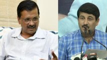 Manoj Tiwari alleges corruption on CM Kejriwal over construction of rooms in schools   Oneindia News