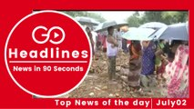 Top News Headlines of the Hour (02 July, 11:45 AM)