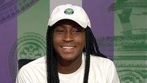 Wimbledon 2019 - Cori Gauff, only 15 years old, writes History !