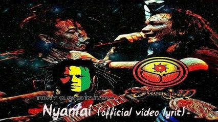 Steven Jam Ft. Tony Q Rastafara - Nyantai - (Official Lyric Video)