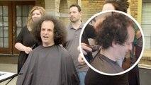 Son projet de loi est accepté, il peut enfin se couper les cheveux après 1 an d'attente
