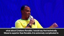 (Subtitled) 'Messi superior to Ronaldo' – Cafu praises Messi ahead Copa America semi-finals