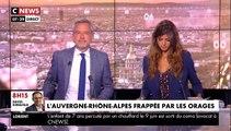 """Orages violents - Un pompier de Haute-Savoie raconte les nombreuses interventions de cette nuit : """"Nous sommes intervenus 293 fois"""""""