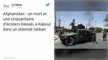 Afghanistan : Six morts et une cinquantaine d'écoliers blessés à Kaboul dans un attentat taliban