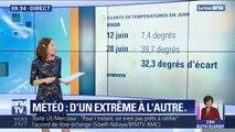 De 7°C à 39°C: comme à Béziers, des villes ont battu des records de fraîcheur et de chaleur en juin