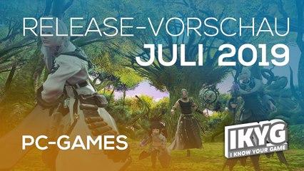 Games-Release-Vorschau - Juli 2019 - PC