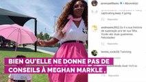 Meghan Markle : sa meilleure amie Serena Williams ne lui donne  aucun conseil de jeune maman