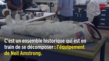 """La combinaison de Neil Armstrong aura bientôt """"disparu"""""""
