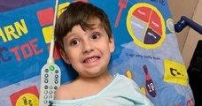 Un papa transforme des draps en véritables tapis de jeux, afin de redonner le sourire aux enfants malades !