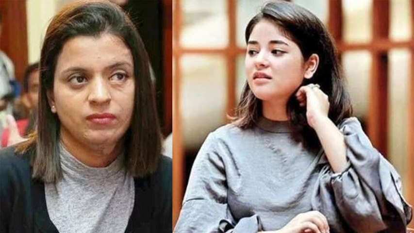 Is Kangana's sister really defending Zaira Wasim's decision to quit Bollywood?