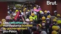 Hong Kong : Des militants pro-démocratie font irruption dans le Parlement