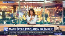 Manifestation écologique, l'évacuation polémique