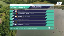 Championnat de France Sénior Bateaux longs Bourges 2019 Finale du 4 sans barreur poids-légers SH4-PL