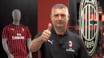 Milan Junior Camp 2019: il saluto di Massaro
