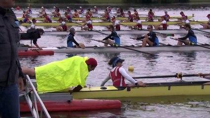 Championnat de France Junior Bateaux longs - Bourges 2019 - Finale du 8 barré femmes - J18F8+