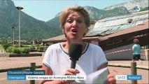 La région Auvergne-Rhône-Alpes touchée par de violents orages