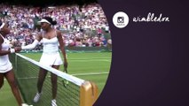 Venus Williams reacts to stunning defeat by teen at Wimbledon