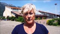 Orages à Doussard : Michele Lutz, maire, s'exprime