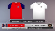 Match Preview: Chicago Fire vs Atlanta United on 04/07/2019