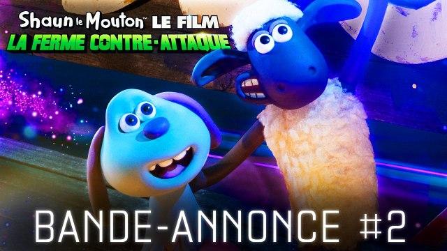 SHAUN LE MOUTON LE FILM : LA FERME CONTRE-ATTAQUE - Bande-annonce #2 (2019)
