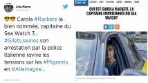 Carola Rackete, la capitaine du Sea-Watch qui défie les autorités italiennes