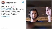 Mercato : La Juventus Turin, «un cran au-dessus du Paris Saint-Germain» pour Adrien Rabiot