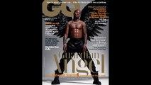 STILLS: Raheem Sterling wears angel wings in GQ photoshoot