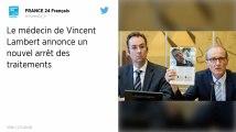 Affaire Vincent Lambert : Les traitements de nouveau arrêtés à compter de ce mardi