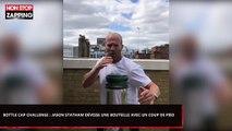 Bottle Cap Challenge : Jason Statham dévisse une bouteille avec un coup de pied (Vidéo)