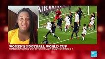 Women's Football World Cup: US beats France