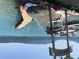 Orages et tempête sur le lac d'Annecy : le port de Veyrier-du-Lac a subi de gros dégâts