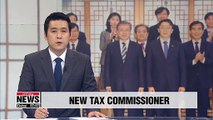 S. Korea's new tax chief recieves certificate of appointment