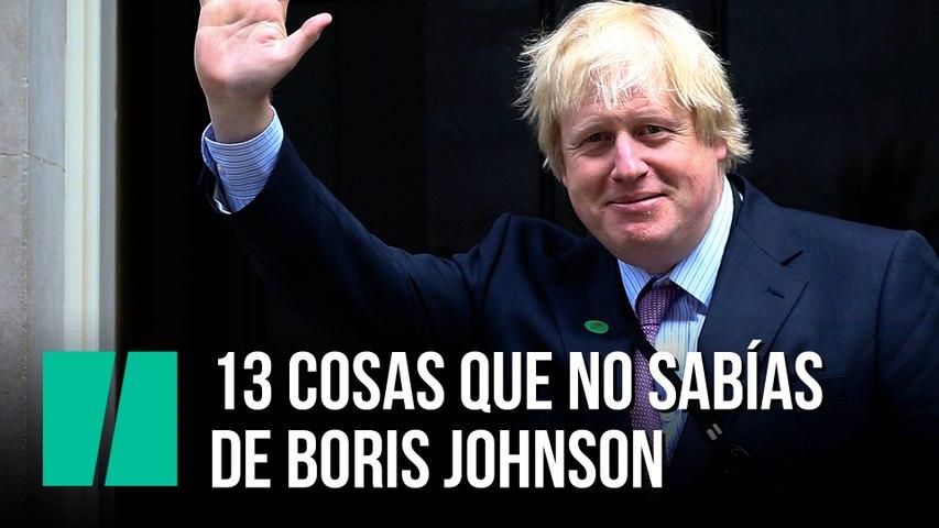 13 cosas que no sabías de Boris Johnson