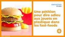 Une pétition pour dire adieu aux jouets en plastique dans les fast-foods