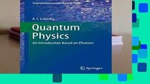 PDF Download An Introduction to Quantum Physics The MIT