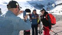 Reportage - Chloé Cornu-Wong, espoir hongkongais du ski s'entraine aux Deux-Alpes