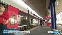 Orages : des passagers bloqués dans le TGV Paris-Grenoble