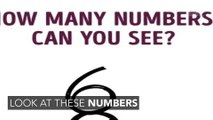 Can You Guess How Many Numbers There Are In This Image?