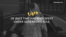Governor's rule in J&K -  News in Numbers