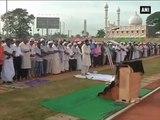 Watch- People Celebrate Eid Al-Adha With Special Namaaz In Thiruvananthapuram.mp4